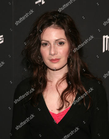 "Actress Aleksa Palladino attends a screening of ""Mistaken For Strangers"" on in New York"