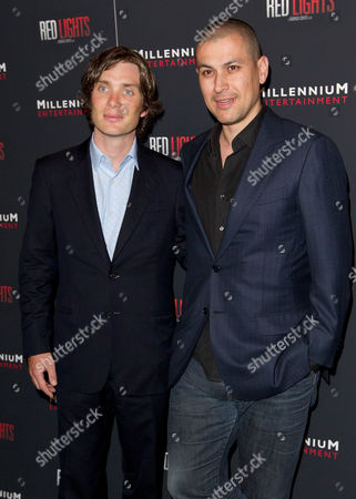 Cillian Murphy and Rodrigo Cortes attend Red Lights special screening at Sunshine Landmark Theatre on in New York