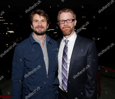 """Mark Boal and Austin Bunn attends Sony Pictures Classics Los Angeles Premiere of """"Kill Your Darlings"""" Presented by Blue Moon Brewing Company on in Los Angeles"""