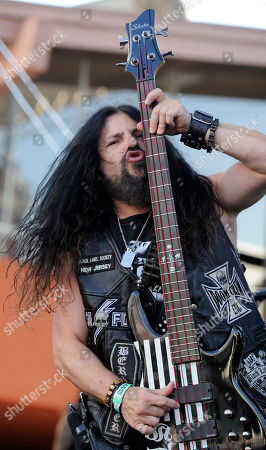 John DeServio of Black Label Society performs at the Sunset Strip Music Festival, in West Hollywood, Calif