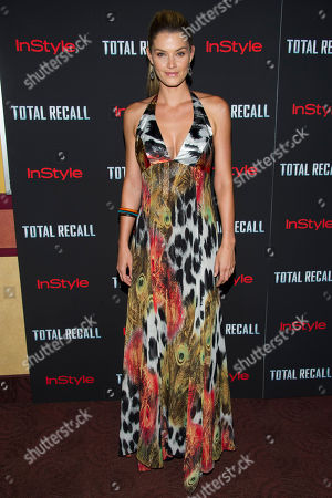 "Shamone Jardim attends a screening of ""Total Recall"" on in New York"