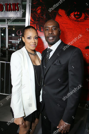 Pam Byse and Morris Chestnut at TriStar Pictures World Premiere of 'The Call', held at the ArcLight Hollywood on in Los Angeles