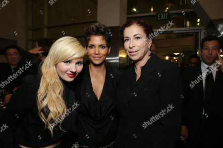 Abigail Breslin, Halle Berry and Roma Maffia at TriStar Pictures World Premiere of 'The Call', held at the ArcLight Hollywood on in Los Angeles