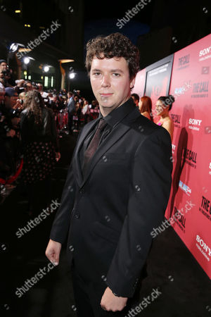 Cory Scarborough at TriStar Pictures World Premiere of 'The Call', held at the ArcLight Hollywood on in Los Angeles