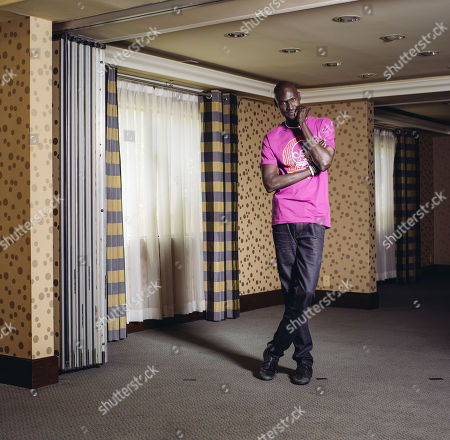"""Ger Duany poses for a portrait during press day for """"The Good Lie"""" at Le Montrose Hotel on in Los Angeles"""