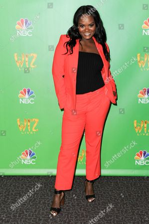 "Shanice Williams attends ""The Wiz Live!"" Photo Op held at the Directors Guild of America, in Los Angeles"