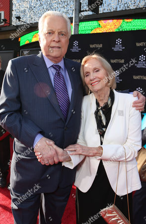 Host Robert Osborne and actress Eva Marie Saint at the 2013 TCM Classic Film Festival's Opening Night Gala at the TCL Chinese Theatre on in Los Angeles
