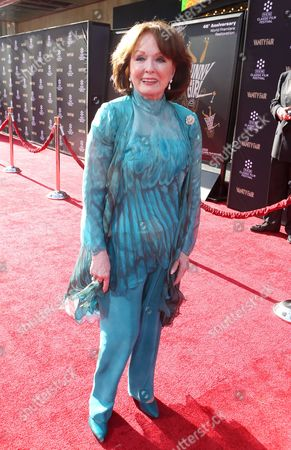 Stock Photo of Actress Ann Blyth at the 2013 TCM Classic Film Festival's Opening Night Gala at the TCL Chinese Theatre on in Los Angeles