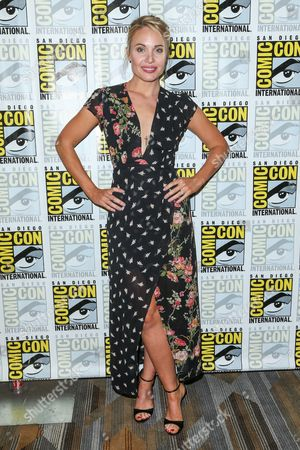 """Leah Pipes attends the """"The Originals"""" press line on day 2 of Comic-Con International, in San Diego"""