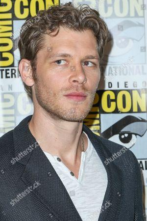 "Joseph Morgan attends the ""The Originals"" press line on day 2 of Comic-Con International, in San Diego"