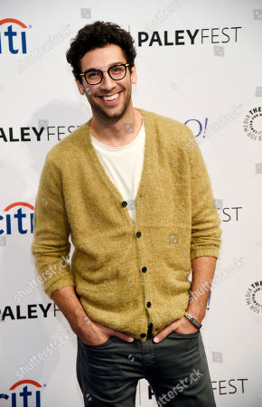 "Rick Glassman, a cast member in the television series ""Undateable,"", poses at the 2015 PaleyFest Fall TV Previews at The Paley Center for Media, in Beverly Hills, Calif"