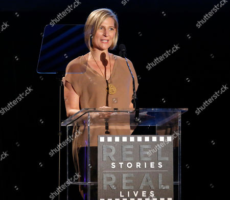 Sue Naegle attends the 2nd Annual Reel Stories, Real Lives Benefiting The Motion Picture & Television Fund at Milk Studios, in Los Angeles