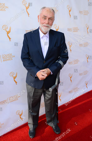 Robert David Hall poses on the red carpet at the 35th College Television Awards, presented by the Television Academy Foundation at The Leonard H. Goldenson Theatre in the NoHo Arts District, in Los Angeles