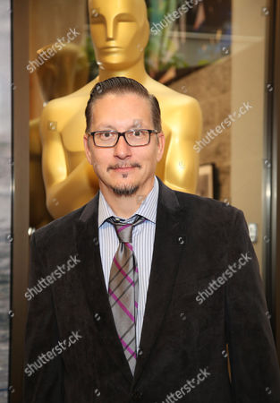 """Stephen Prouty, who is nominated for an Academy Award for Best Makeup and Hairstyling for """"Jackass Presents: Bad Grandpa,"""" attends the 86th Academy Awards - Makeup and Hairstyling Reception on in Beverly Hills, Calif"""