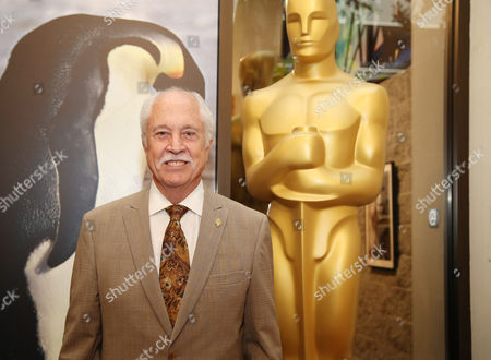 Leonard Engelman, AMPAS makeup artists and hairstylists branch governor, attends the 86th Academy Awards - Makeup and Hairstyling Reception on in Beverly Hills, Calif