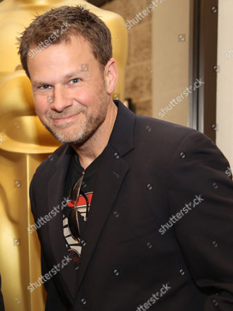 "Joel Harlow, who is nominated for an Academy Award for Best Makeup and Hairstyling for ""The Lone Range,"" attends at 86th Academy Awards - Makeup and Hairstyling Reception on in Beverly Hills, Calif"