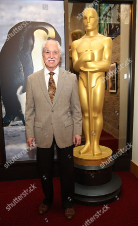 Leonard Engelman, AMPAS makeup artists and hairstylists branch governor, attends the 86th Annual Academy Awards: Makeup and Hairstyling reception, in Beverly Hills, Calif