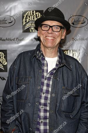 John Hiatt walked the red carpet at All My Friends: Celebrating The Songs and Voice of Gregg Allman on in Atlanta, Ga
