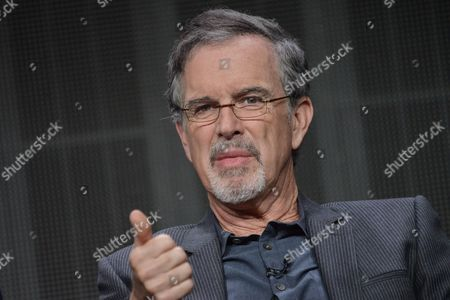 """Stock Picture of Garry Trudeau speaks onstage during the """"Alpha House"""" panel at the Amazon 2014 Summer TCA, in Beverly Hills, Calif"""