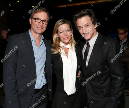 """Stock Picture of Jim Burke, Christina Simpkins and John Hawkes attend Fox Searchlight's """"The Sessions"""" Los Angeles Premiere After Party at LACMA,, in Los Angeles"""