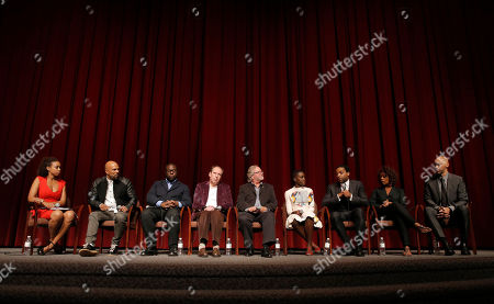 Amy Liza Keith, Common, Director Steve McQueen, Hans Zimmer, Cinematographer Sean Bobbitt, Lupita Nyong'o, Chiwetel Ejiofor, Alfre Woodward and Writer John Ridley attend Fox Searchlight's Los Angeles Premiere of 12 Years A Slave, on Monday, October, 4th, 2013 in Los Angeles