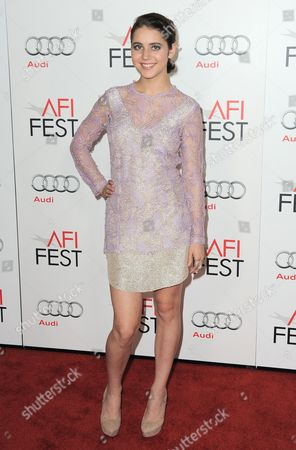 Tessa Ia arrives at the AFI Fest, in Los Angeles