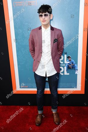 """Editorial photo of LA Premiere Of """"Me And Earl And The Dying Girl"""" - Arrivals, Los Angeles, USA"""