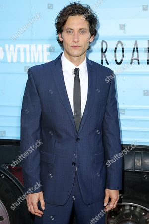 "Tanc Sade arrives at the Season One Premiere of ""Roadies"" at The Theatre at Ace Hotel, in Los Angeles"