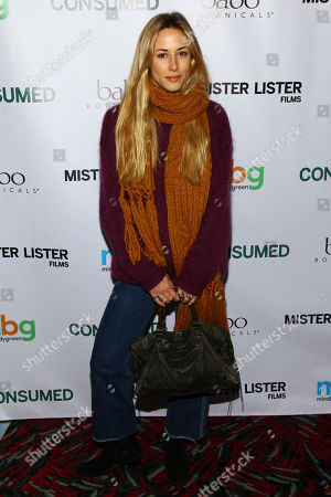 "Stock Photo of Gillian Zinser attends the premiere of ""Consumed"" at the AMC Loews 19th Street, in New York"