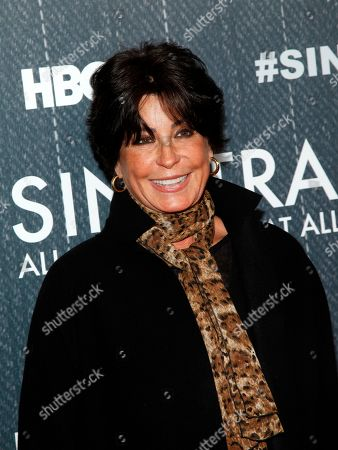 """Tina Sinatra attends the premiere of HBO's """"Sinatra: All Or Nothing At All"""" at the Time Warner Center, in New York"""