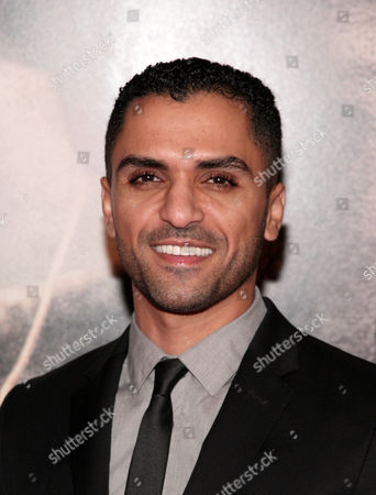 """Stock Image of Actor Sammy Sheik attends the New York premiere of """"Lone Survivor"""", in New York"""