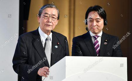 Shinsuke Okuno and Daisaku Hiraki