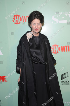 Stock Image of Marina Rust Connor seen at the premiere screening of MASTERS OF SEX, hosted by SHOWTIME and SONY PICTURES TELEVISION, on at The Morgan Library and Museum in New York City