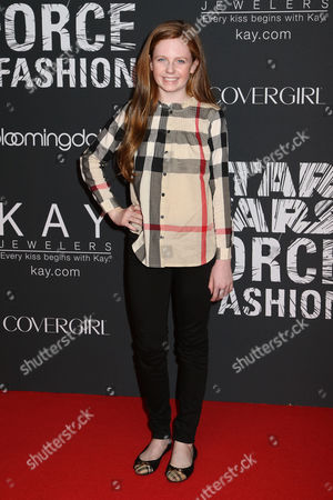 "Clare Foley attends the Star Wars ""Force 4 Fashion"" event at Skylight Modern, in New York"