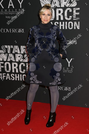 "Ashley Eckstein attends the Star Wars ""Force 4 Fashion"" event at Skylight Modern, in New York"