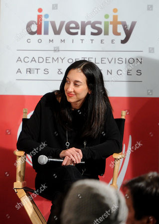 """FEBRUARY 15: Executive producer Lizzy Weiss participates in The Academy of Television Arts & Sciences Diversity Committee and ABC Family Present """"Switched At Birth"""" Panel Discussion on in North Hollywood, California"""
