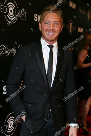 Jacob Diamond seen at The Inaugural Dignity Gala, on Friday, Oct., 18, 2013 in Los Angeles