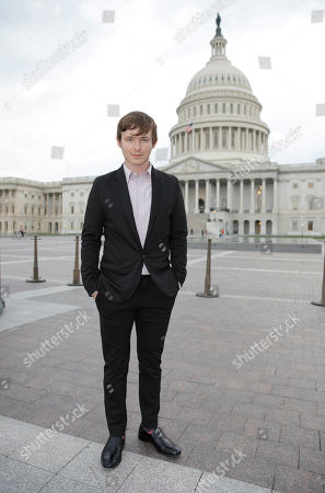 """Stock Image of Marshall Allman attends a special screening of """"Sugar"""" for Congress, in Washington DC"""