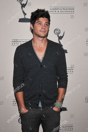 BEVERLY HILLS, CA - JUNE 16 Actor Trent Garrett attends a cocktail party presented by the Academy of Television Arts & Sciences' Daytime Programming Peer Group, in celebration of the 2011 Daytime Emmy Awards Nominees at the SLS Hotel at Beverly Hills on in Beverly Hills, California