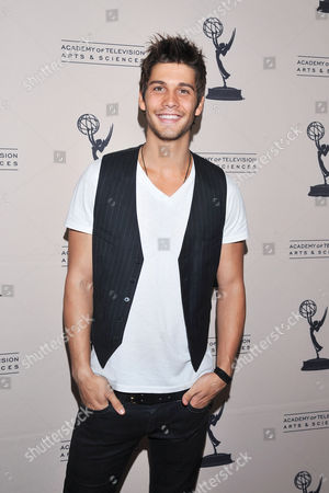Stock Picture of BEVERLY HILLS, CA - JUNE 16: Actor Casey Jon Deidrick attends a cocktail party presented by the Academy of Television Arts & Sciences' Daytime Programming Peer Group, in celebration of the 2011 Daytime Emmy Awards Nominees at the SLS Hotel at Beverly Hills on in Beverly Hills, California
