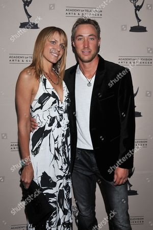 BEVERLY HILLS, CA - JUNE 16: Actors Arianne Zucker and Kyle Lowder attend a cocktail party presented by the Academy of Television Arts & Sciences' Daytime Programming Peer Group, in celebration of the 2011 Daytime Emmy Awards Nominees at the SLS Hotel at Beverly Hills on in Beverly Hills, California