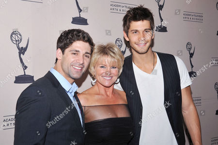 BEVERLY HILLS, CA - JUNE 16: Actors Bren Foster, Judi Evans and Casey Jon Deidrick attend a cocktail party presented by the Academy of Television Arts & Sciences' Daytime Programming Peer Group, in celebration of the 2011 Daytime Emmy Awards Nominees at the SLS Hotel at Beverly Hills on in Beverly Hills, California