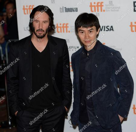 "Editorial image of 2013 TIFF - ""Man of Tai Chi"" Premiere, Toronto, Canada"