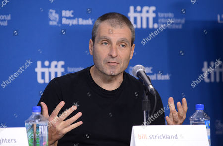 """Stock Photo of Bill Strickland attends the press conference for """"The Armstrong Lie"""" on day 5 of the Toronto International Film Festival at the TIFF Bell Lightbox, in Toronto"""