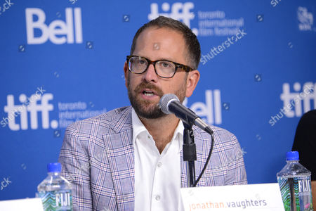 """Jonathan Vaughters attends the press conference for """"The Armstrong Lie"""" on day 5 of the Toronto International Film Festival at the TIFF Bell Lightbox, in Toronto"""
