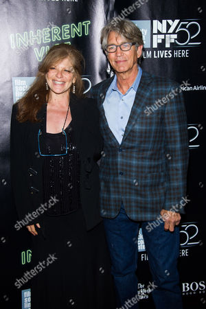 "Eliza Roberts and Eric Roberts attend the world premiere of ""Inherent Vice"" during the 52nd Annual New York Film Festival at Alice Tully Hall, in New York"