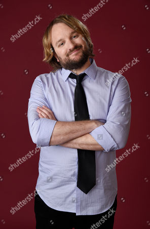 """Lenny Jacobson, a cast member in The CW series """"Frequency,"""" poses for a portrait during the 2016 Television Critics Association Summer Press Tour at the Beverly Hilton, in Beverly Hills, Calif"""