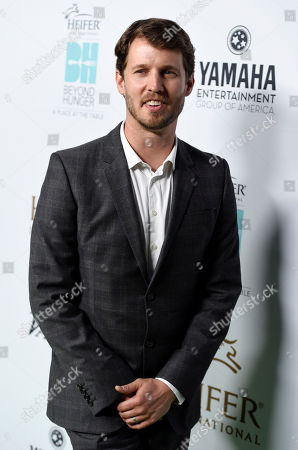 "Host Jon Heder arrives at the 4th Annual Beyond Hunger: ""A Place at the Table"" gala at the Montage Hotel, in Beverly Hills, Calif"