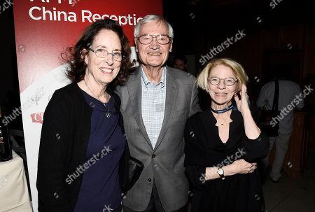 Julie Corman, Roger Corman and Jean M. Prewitt, President & CEO of IFTA, arrives at American Film Market China Reception at the Loews Santa Monica Beach Hotel on Wendeday, in Santa Monica, Calif