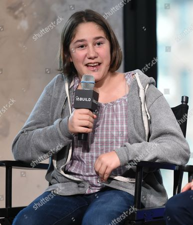 """Actor Imogene Wolodarsky participates in AOL's BUILD Speaker Series to discuss the new film, """"Infinitely Polar Bear"""", at AOL Studios, in New York"""